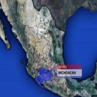 Michoacán./ @Noticieros Televisa